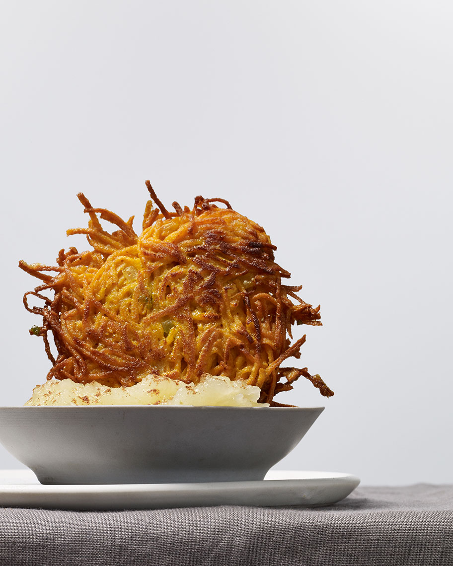 sweet potato latke : eat your heart out