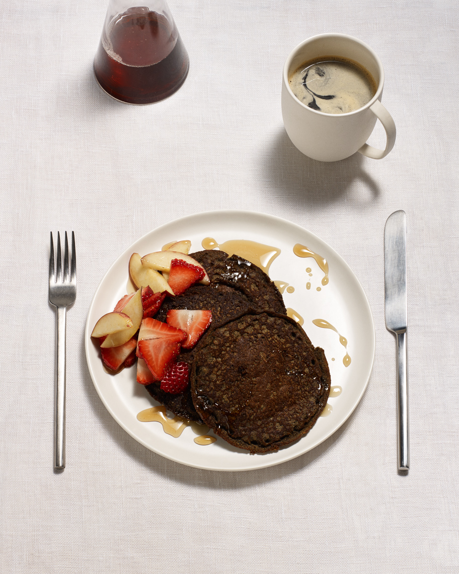 buckwheat pancakes : eat your heart out