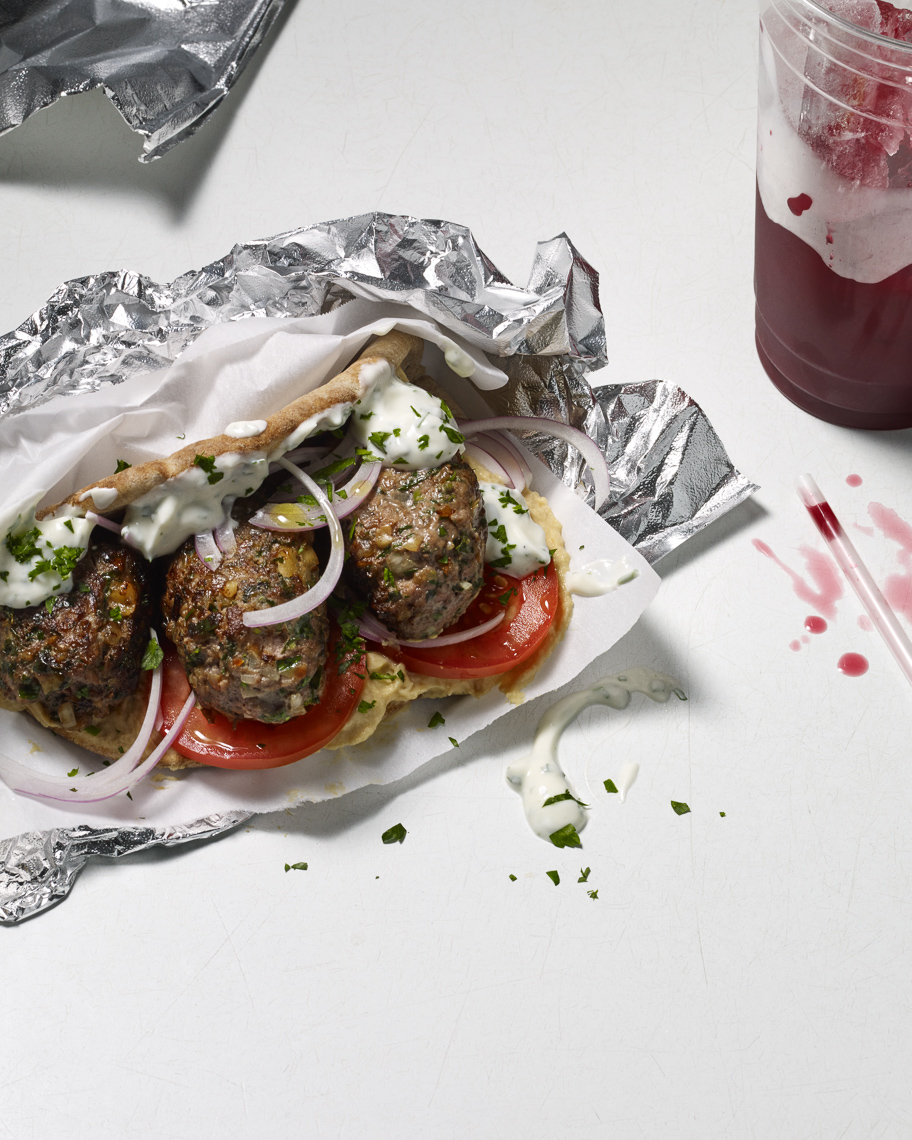 lamb kofta : eat your heart out