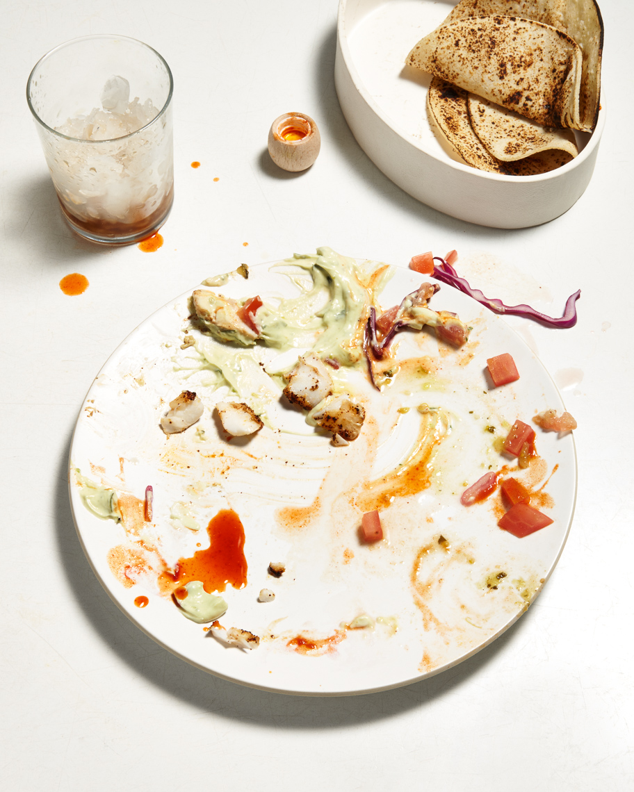 empty plate | eat your heart out
