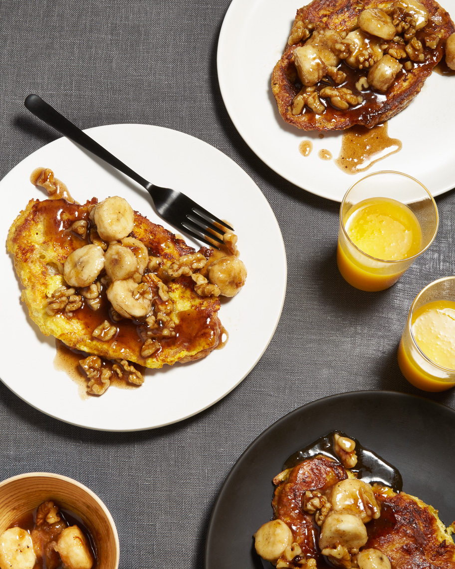 bananas foster french toast | eat your heart out