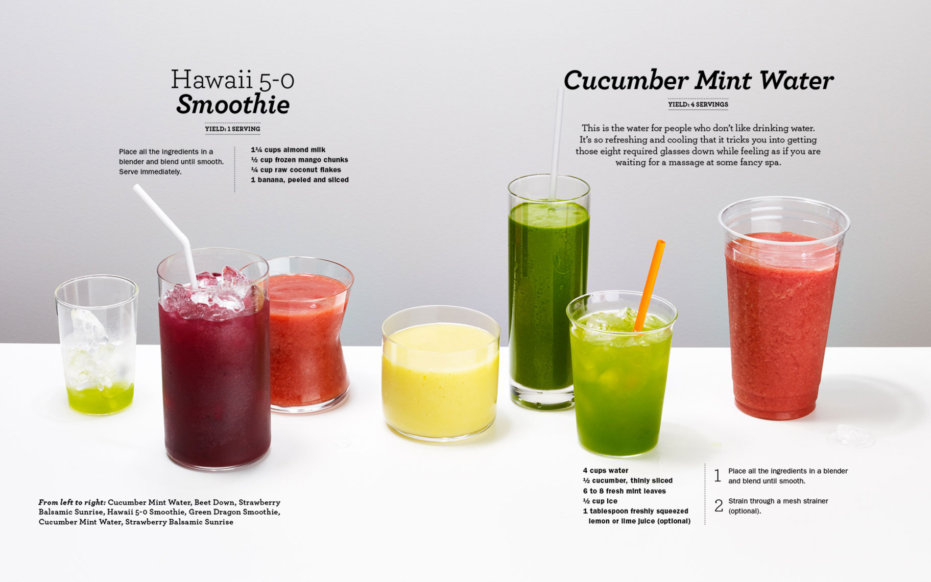smoothies : eat your heart out
